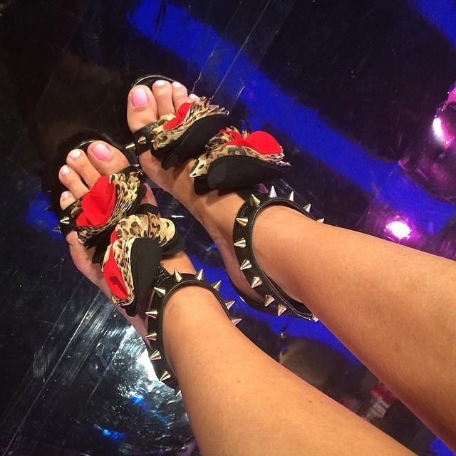Aline Hernandez Feet