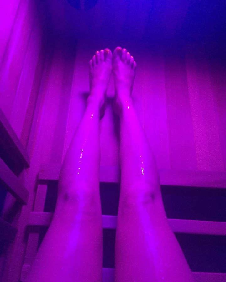 Fern Langham Feet