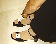 Lisa Simeone Feet
