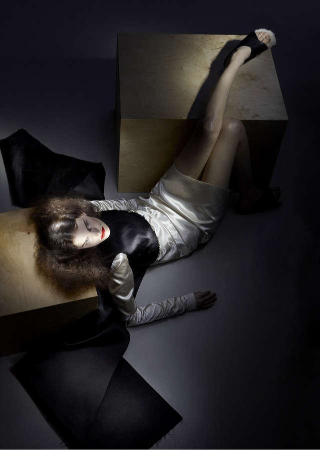 Lisa Verberght Feet