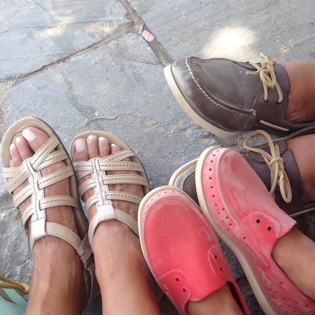 Nia Vardalos Feet