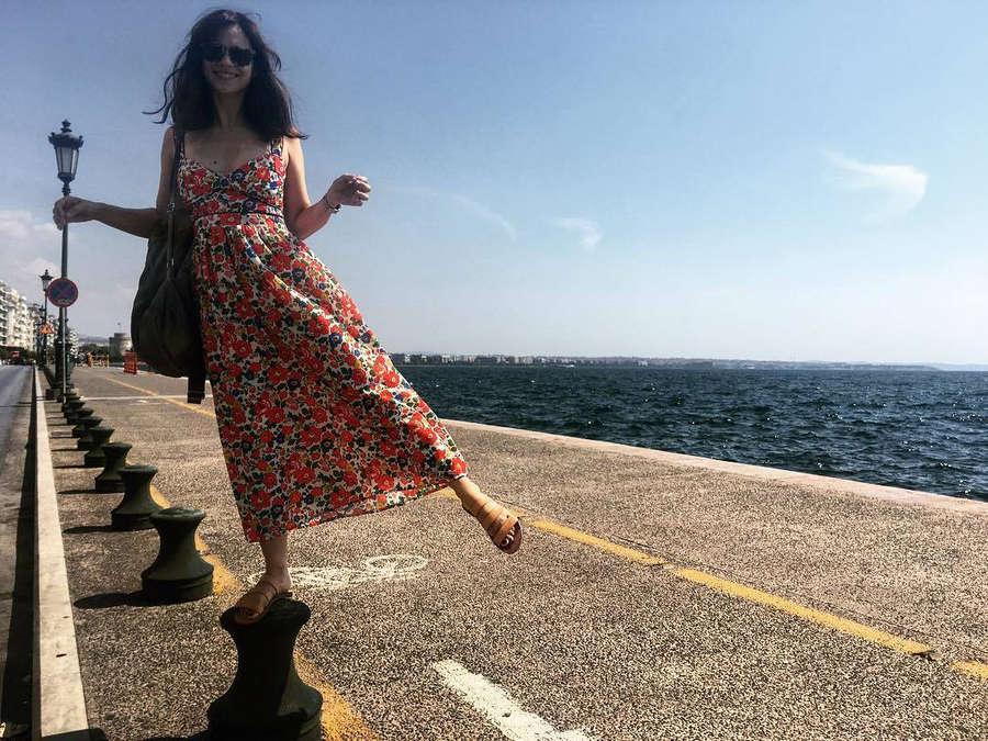 Evgenia Dimitropoulou Feet