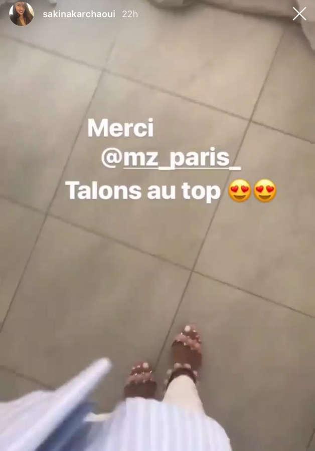 Sakina Karchaoui Feet
