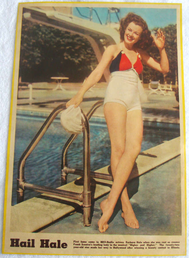 Barbara Hale Feet