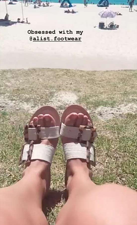 Alicia Banit Feet