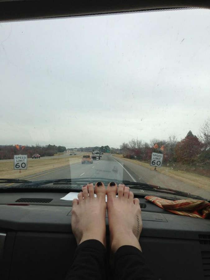 Adley Stump Feet
