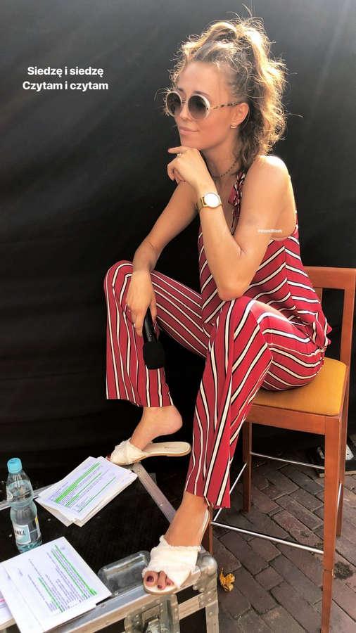 Izabella Krzan Feet
