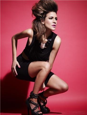 Caroline Flack Feet