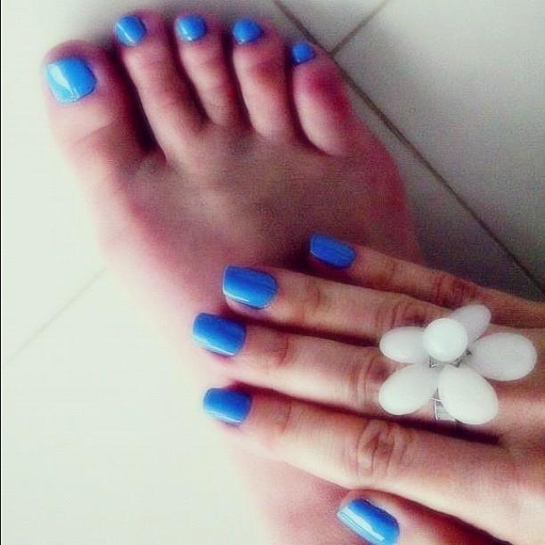 Claudia Molina Feet