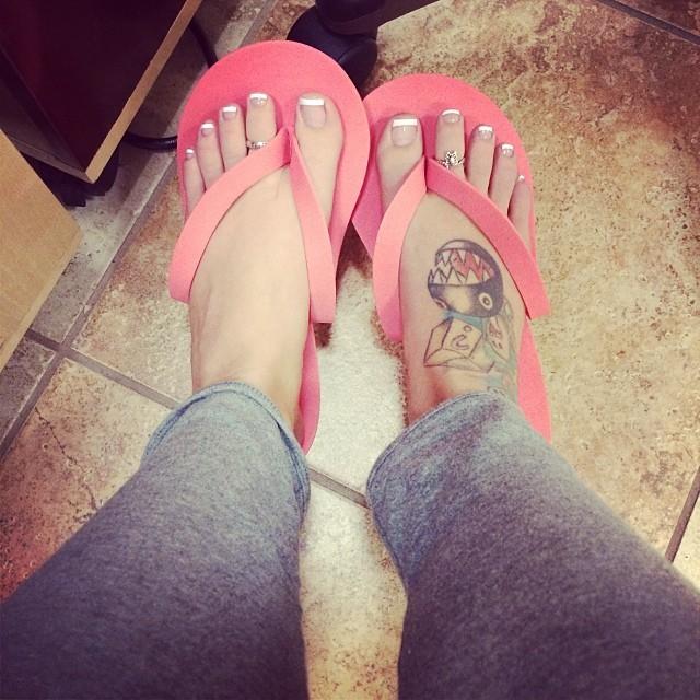 Tara Babcock Feet