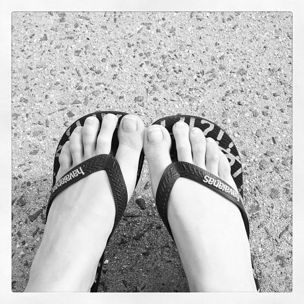 Aline Weber Feet