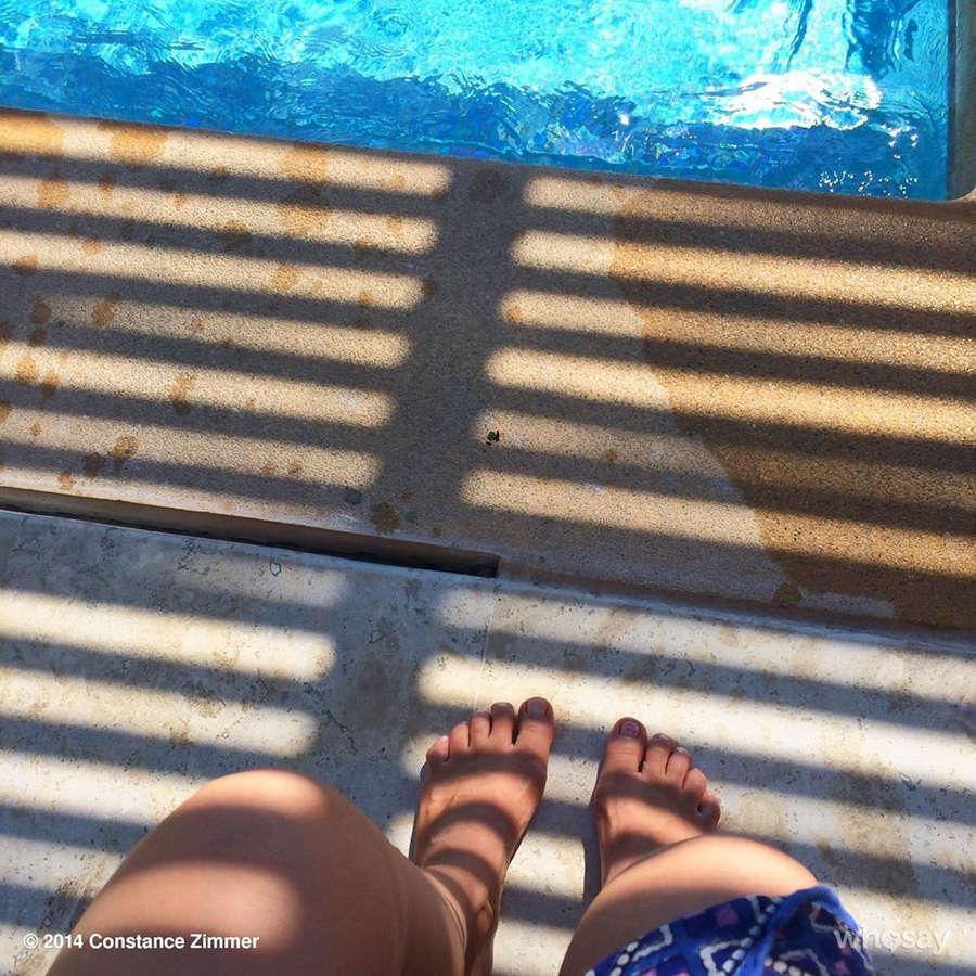 Constance Zimmer Feet