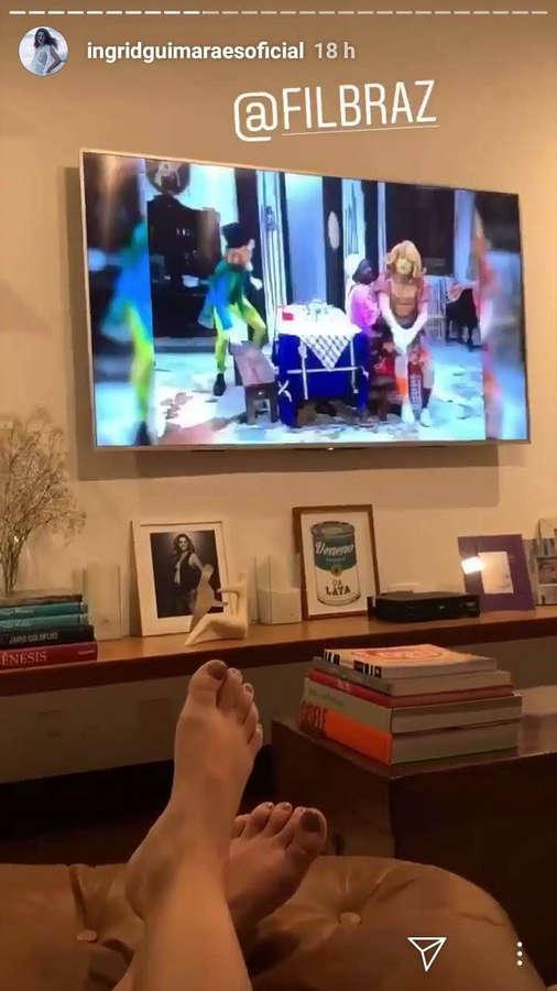 Ingrid Guimaraes Feet