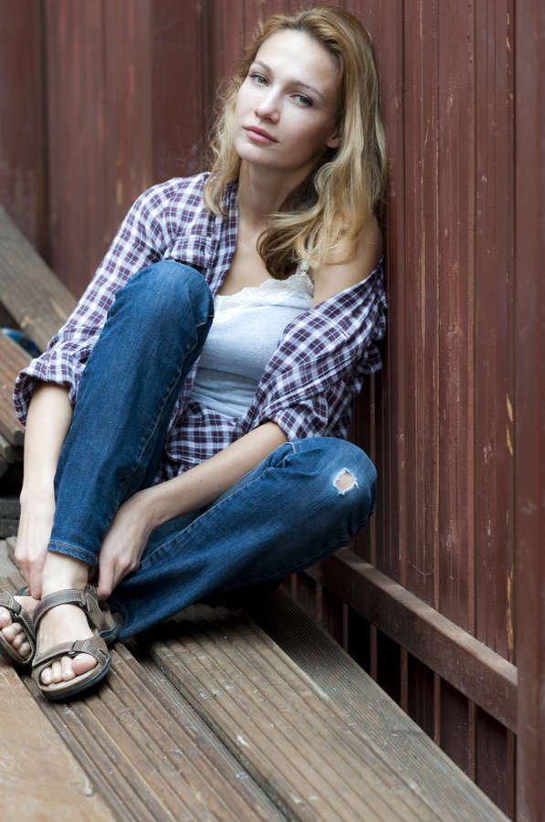 Evgenia Brik Feet