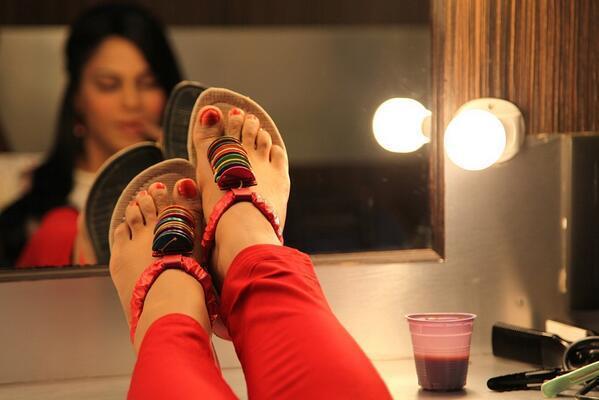 Veena Malik Feet
