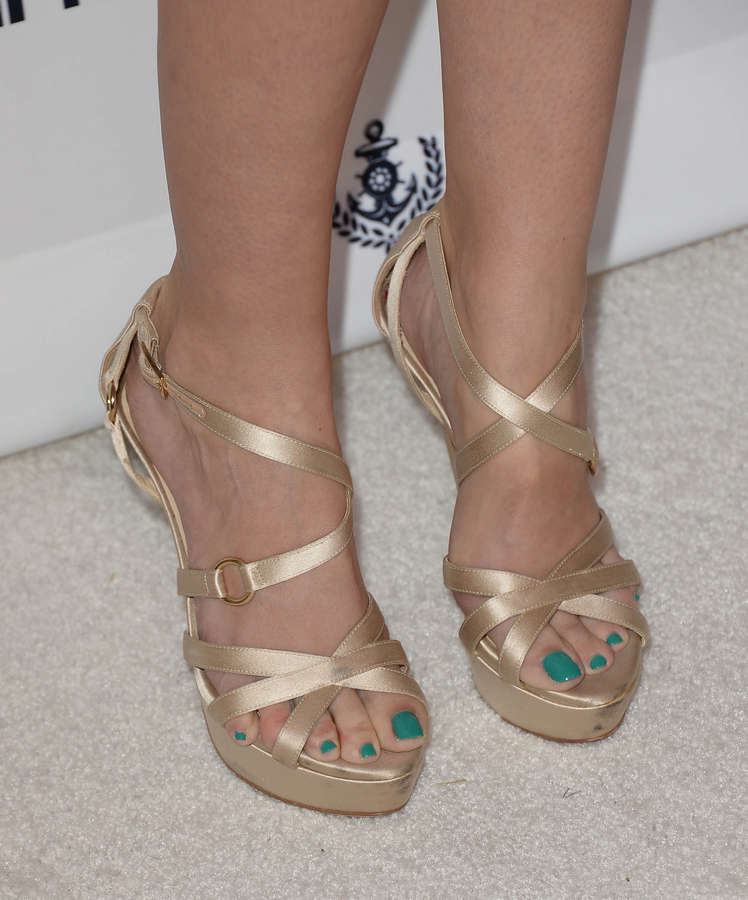 Lindy Booth Feet