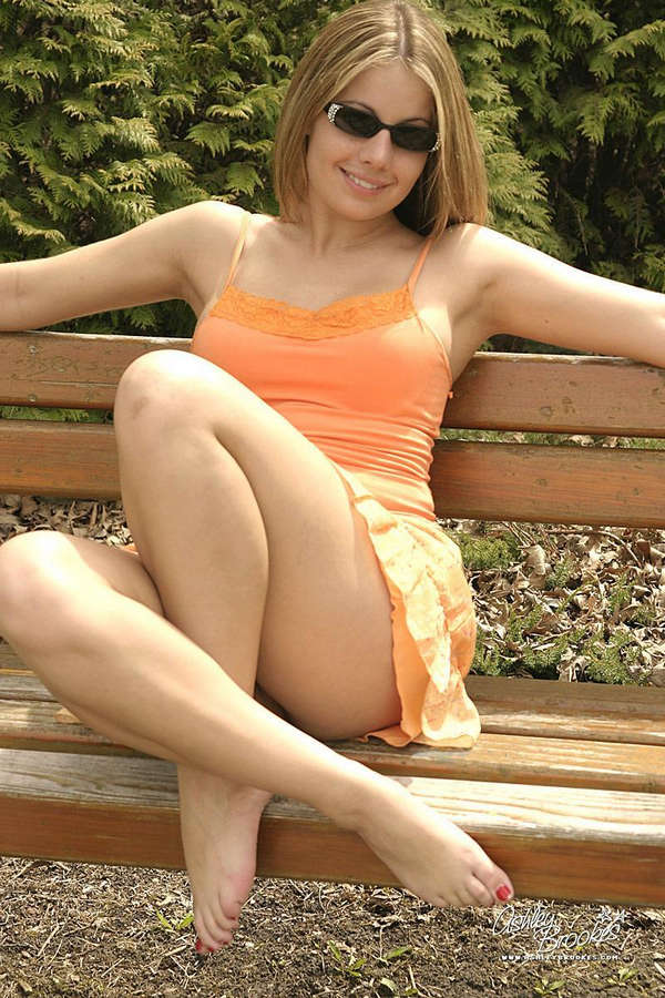 Ashley Brookes Feet
