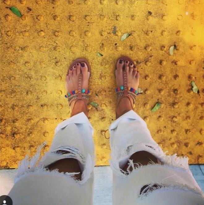 Nina Senicar Feet