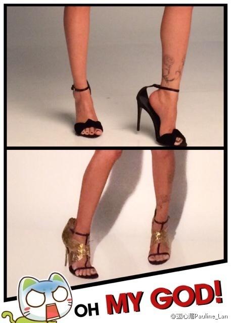 Pauline Lan Feet